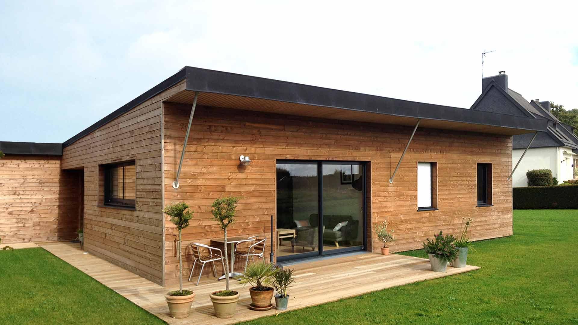 Une très belle maison en bois