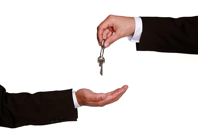 Remise des clés d'un patrimoine