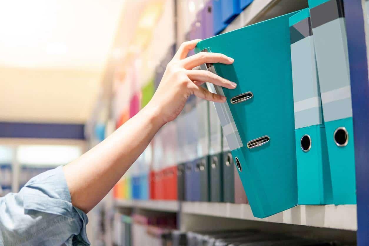 rangement boites classeurs office box