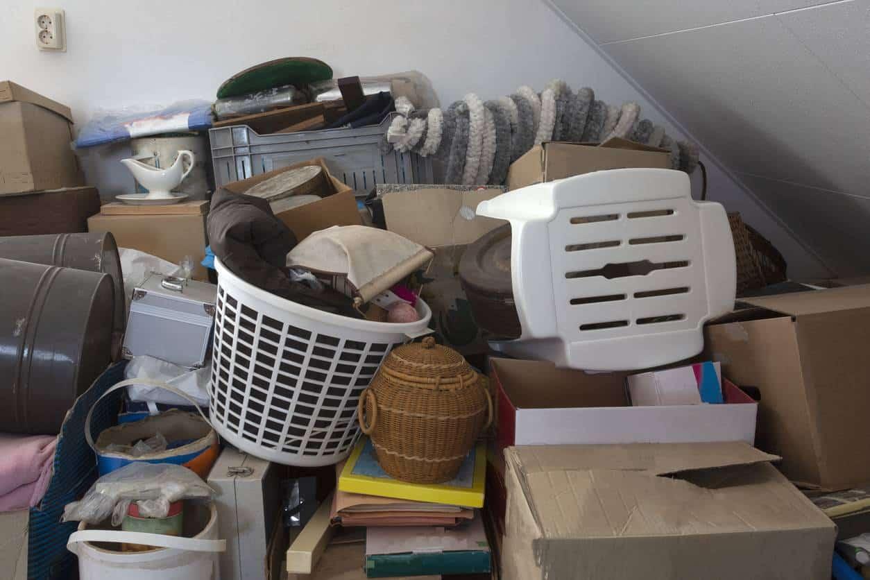 stockage de meubles dans un garde-meubles